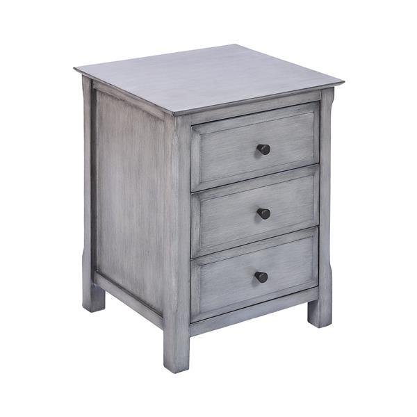 Stein World Pierpont Side Table - 24-in - Grey