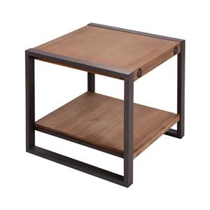 Stein World Armour Side Table - 19.69-in - Brown
