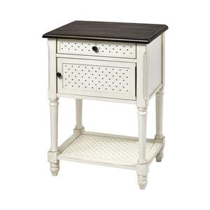 Stein World Hartford Side Table - 32-in - White