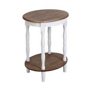 Stein World Grand Forks Side Table - 30-in - White