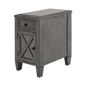 Stein World Gettysburg Side Table - 25-in - Grey