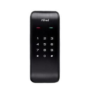 Alfred® DB2 Series Deadbolt with Lighted Keypad - Black