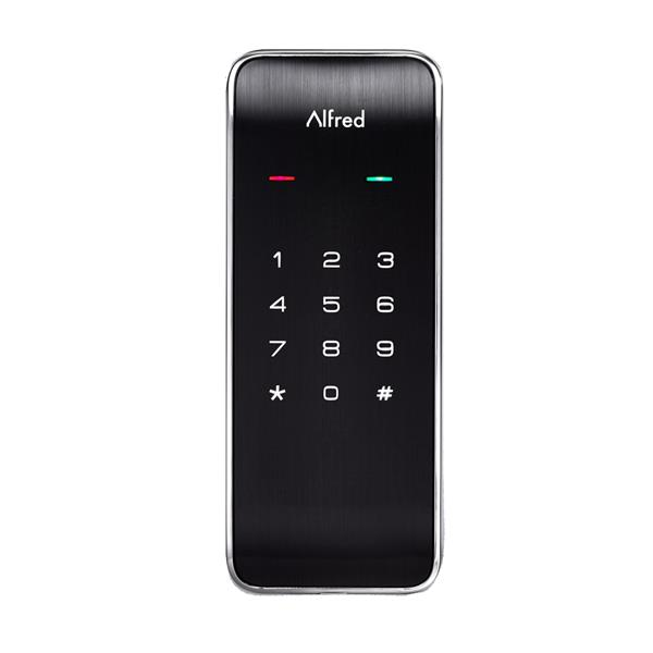 Verrou DB2 Alfred(MD) avec clavier et éclairage, chrome