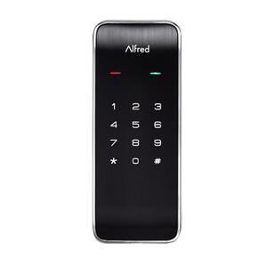 Alfred® DB2 Deadbolt 1-Cylinder Lighted Keypad - Chrome