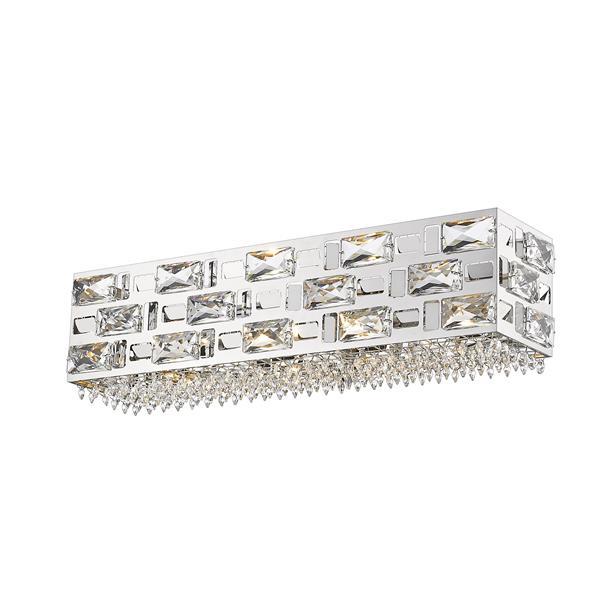 Z-lite Z-Lite Aludra Bathroom Vanity Light - 4-Light - Chrome 912-4V-CH