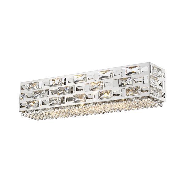 Z-lite Z-Lite Aludra Bathroom Vanity Light - 5-Light - Chrome 912-5V-CH