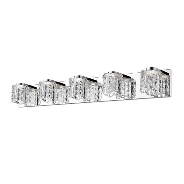 Z-lite Z-Lite Tempest Bathroom LED Vanity Light - 5-Light - Chrome 908-5V-LED