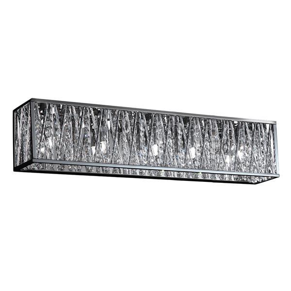 Z-lite Z-Lite Terra Bathroom LED Vanity Light - 5-Light - Chrome 872CH-5V-LED