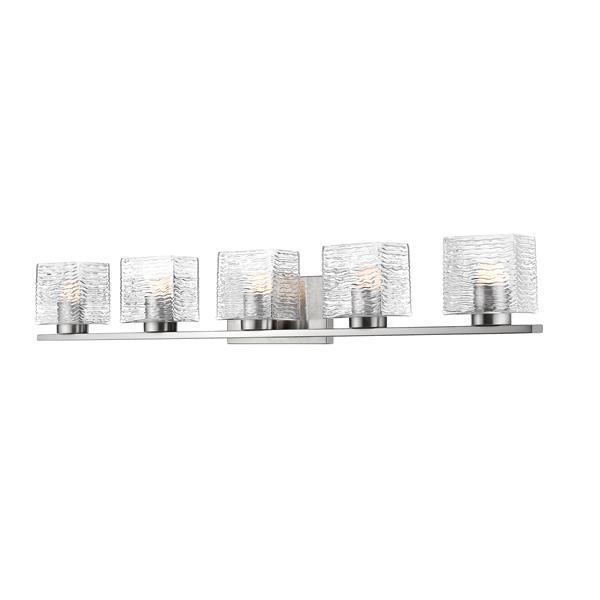 Z-lite Z-Lite Barrett Bathroom LED Vanity Light - 5-Light - Brushed Nickel 336-5V-BN-LED