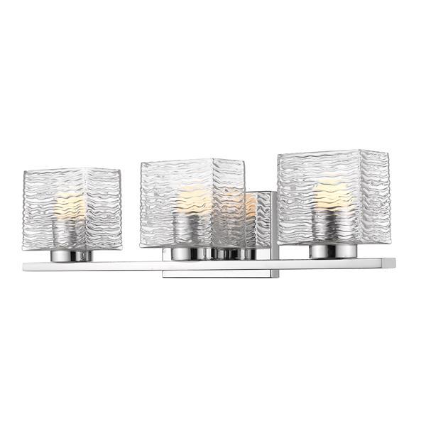 Z-lite Z-Lite Barrett Bathroom LED Vanity Light - 3-Light - Chrome 336-3V-CH-LED