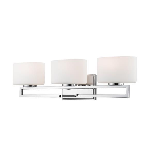 Z-lite Z-Lite Privet Bathroom LED Vanity Light - 3-Light - Chrome 335-3V-CH-LED