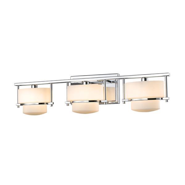 Z-lite Z-Lite Porter Bathroom LED Vanity Light - 3-Light - Chrome 3030-3V-CH-LED