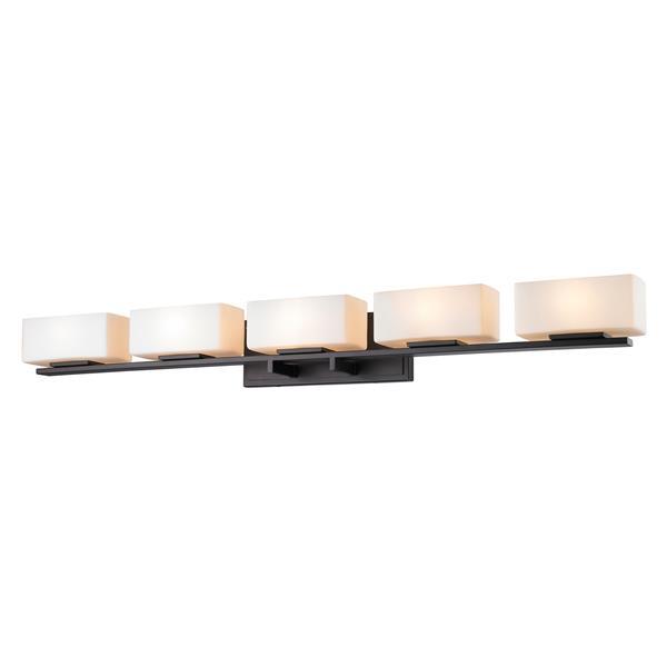 Z-lite Z-Lite Kaleb Bathroom LED Vanity Light - 5-Light - Bronze 3029-5V-BRZ-LED