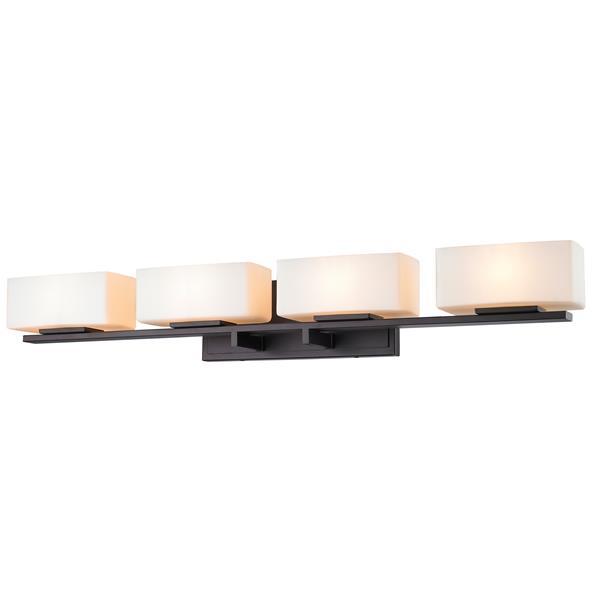 Z-lite Z-Lite Kaleb Bathroom LED Vanity Light - 4-Light - Bronze 3029-4V-BRZ-LED