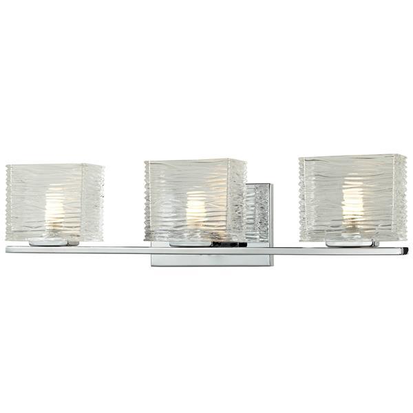 Z-lite Z-Lite Jaol Bathroom Vanity Light - 3-Light - Chrome 3025-3V