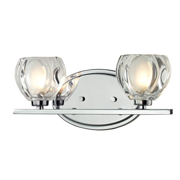 Z-lite Z-Lite Hale Bathroom LED Vanity Light - 2-Light - Chrome 3023-2V-LED