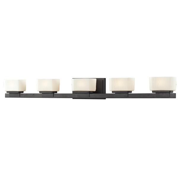 Z-lite Z-Lite Gaia Bathroom LED Vanity Light - 5-Light - Bronze 3021-5V-LED