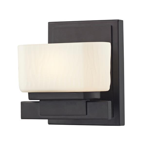Z-Lite Gaia Bathroom Vanity Light - 1-Light - Bronze