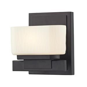 Applique pour salle de bain Gaia, 1 lumière, bronze