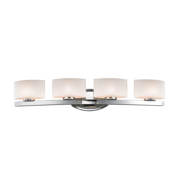 Z-lite Z-Lite Galati Bathroom LED Vanity Light - 4-Light - Chrome 3014-4V-LED
