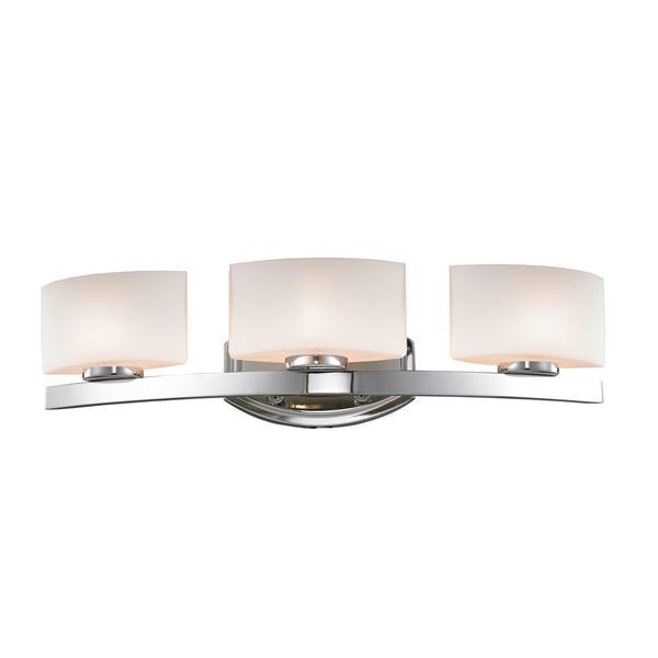 Z-lite Z-Lite Galati Bathroom LED Vanity Light - 3-Light - Chrome 3014-3V-LED