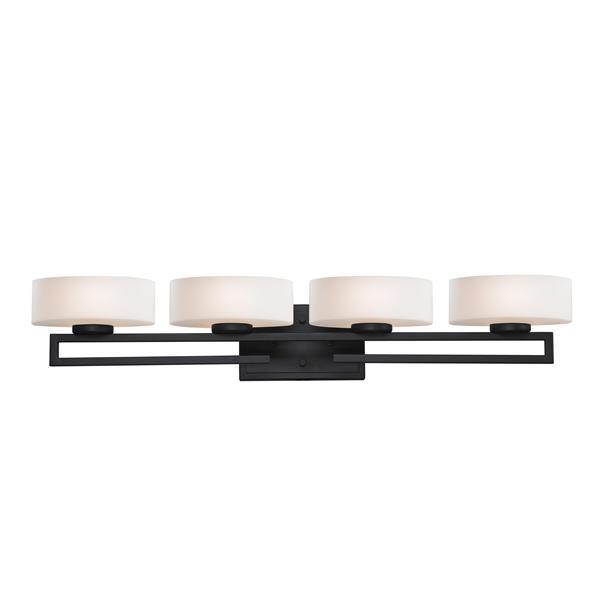Z-lite Z-Lite Cetynia Bathroom Vanity Light - 4-Light - Bronze 3012-4V