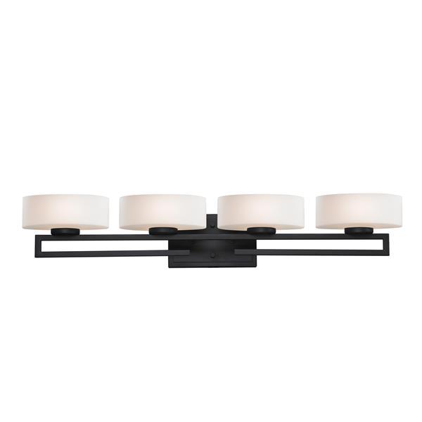 Z-lite Z-Lite Cetynia Bathroom LED Vanity Light - 4-Light - Bronze 3012-4V-LED