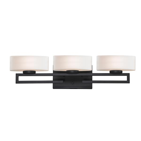 Z-lite Z-Lite Cetynia Bathroom LED Vanity Light - 3-Light - Bronze 3012-3V-LED