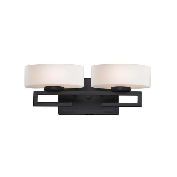 Z-lite Z-Lite Cetynia Bathroom LED Vanity Light - 2-Light - Bronze 3012-2V-LED