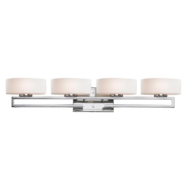 Z-lite Z-Lite Cetynia Bathroom LED Vanity Light - 4-Light - Chrome 3011-4V-LED