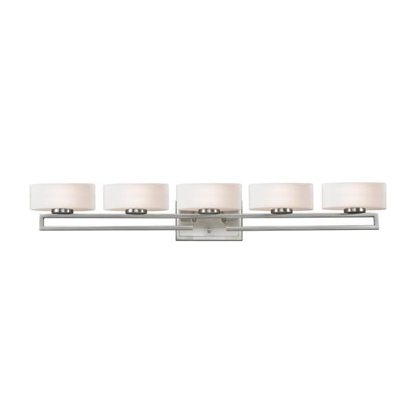 Z-lite Z-Lite Cetynia Bathroom LED Vanity Light - 5-Light - Brushed Nickel 3010-5V-LED
