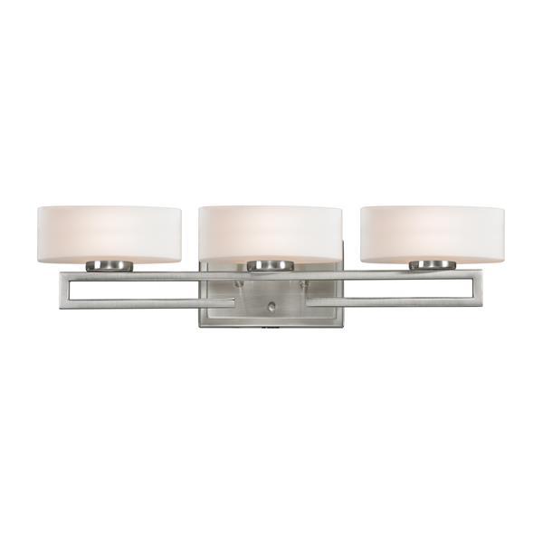 Z-lite Z-Lite Cetynia Bathroom Vanity Light - 3-Light - Brushed Nickel 3010-3V