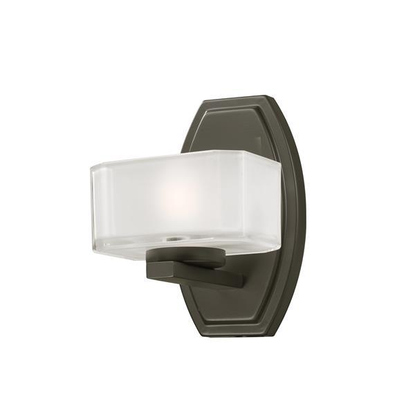 Z-lite Z-Lite Cabro Bathroom Vanity Light - 1-Light - Bronze 3009-1V
