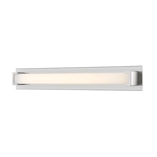 Z-lite Z-Lite Elara Bathroom LED Vanity Light - 1-Light - Brushed Nickel 1926-37V-BN-LED