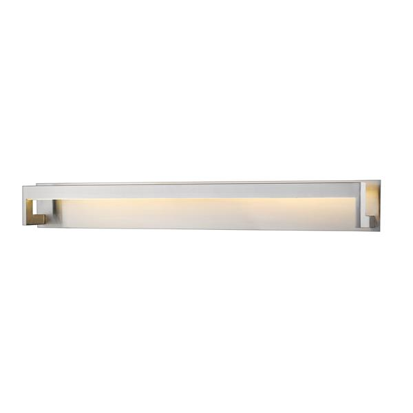 Z-lite Z-Lite Linc Bathroom LED Vanity Light - 1-Light - Brushed Nickel 1925-48V-BN-LED