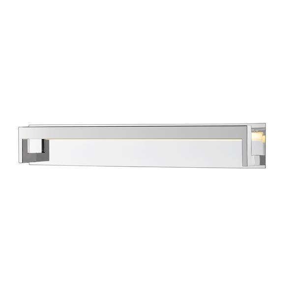 Z-lite Z-Lite Linc Bathroom LED Vanity Light - 1-Light - Chrome 1925-37V-CH-LED