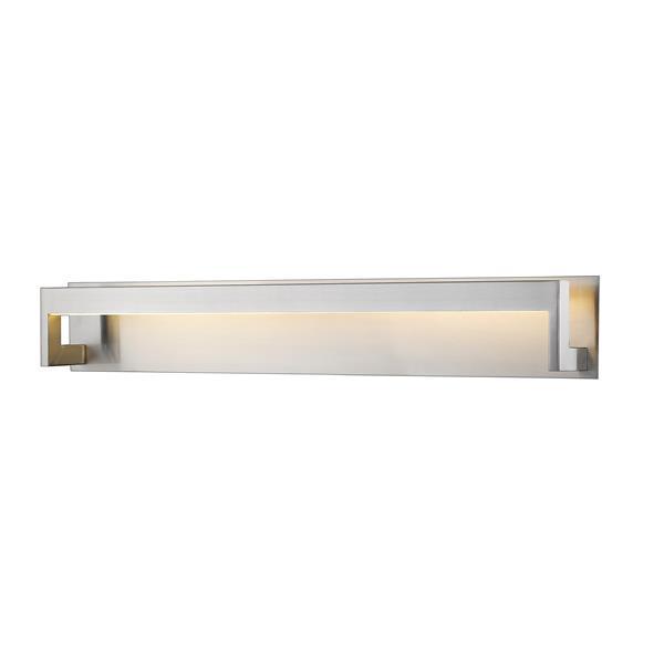 Z-lite Z-Lite Linc Bathroom LED Vanity Light - 1-Light - Brushed Nickel 1925-37V-BN-LED