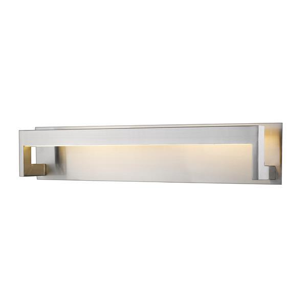 Z-lite Z-Lite Linc Bathroom LED Vanity Light - 1-Light - Brushed Nickel 1925-26V-BN-LED