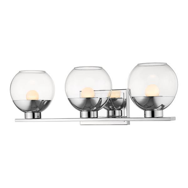 Z-lite Z-Lite Osono Bathroom LED Vanity Light - 3-Light - Chrome 1924-3V-CH-LED