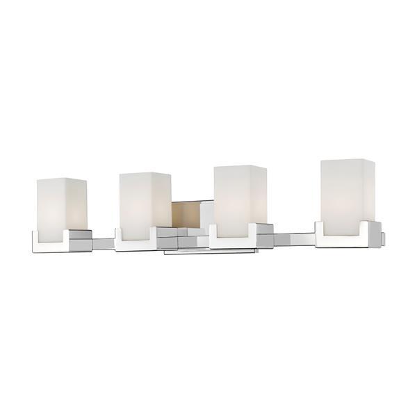 Z-lite Z-Lite Peak Bathroom LED Vanity Light - 4-Light - Chrome 1920-4V-CH-LED