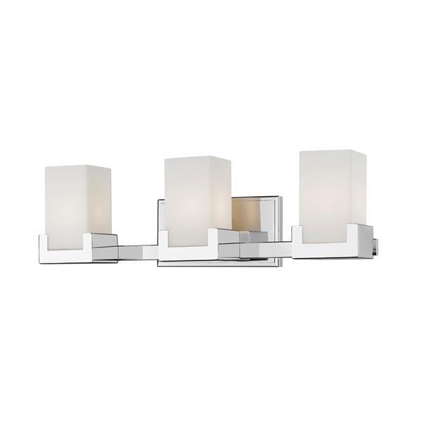 Z-lite Z-Lite Peak Bathroom LED Vanity Light - 3-Light - Chrome 1920-3V-CH-LED