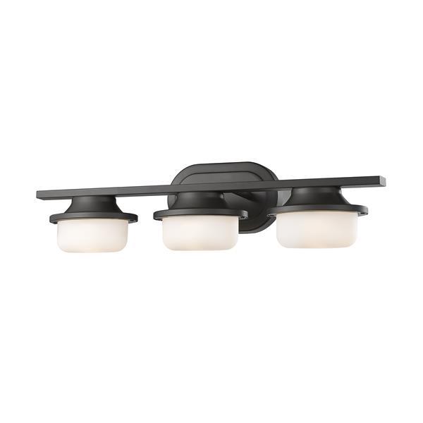 Z-lite Z-Lite Optum Bathroom LED Vanity Light - 3-Light - Bronze 1917-3V-BRZ-LED
