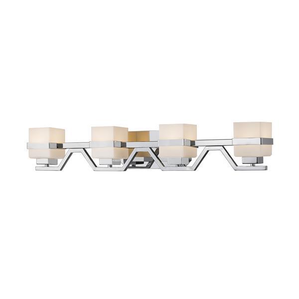 Z-lite Z-Lite Ascend Bathroom LED Vanity Light - 4-Light - Chrome 1915-4V-CH-LED