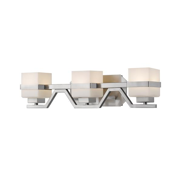 Z-lite Z-Lite Ascend Bathroom LED Vanity Light - 3-Light - Brushed Nickel 1915-3V-BN-LED