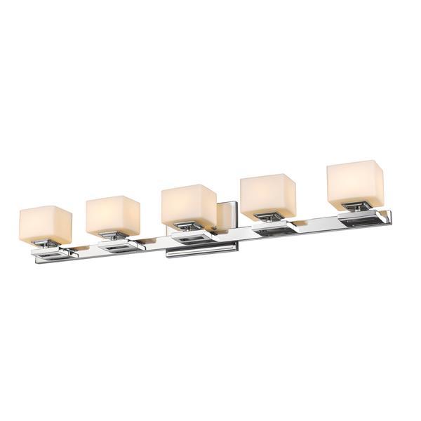 Z-lite Z-Lite Cuvier Bathroom LED Vanity Light - 5-Light - Chrome 1914-5V-CH-LED