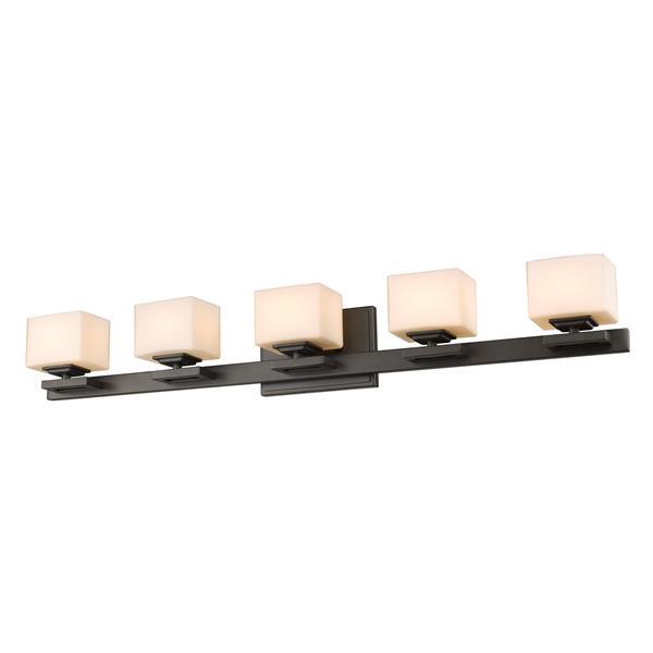 Z-lite Z-Lite Cuvier Bathroom LED Vanity Light - 5-Light - Bronze 1914-5V-BRZ-LED