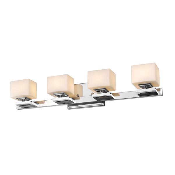 Z-lite Z-Lite Cuvier Bathroom LED Vanity Light - 4-Light - Chrome 1914-4V-CH-LED