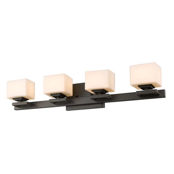 Z-lite Z-Lite Cuvier Bathroom LED Vanity Light - 4-Light - Bronze 1914-4V-BRZ-LED