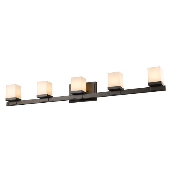 Z-lite Z-Lite Cadiz Bathroom LED Vanity Light - 5-Light - Bronze 1913-5V-BRZ-LED