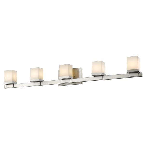 Z-lite Z-Lite Cadiz Bathroom LED Vanity Light - 5-Light - Brushed Nickel 1913-5V-BN-LED